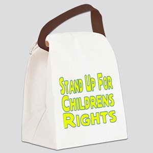 Childrens Rights Canvas Lunch Bag
