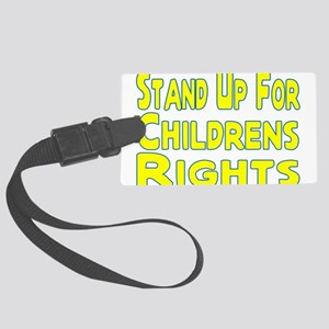 Childrens Rights Large Luggage Tag