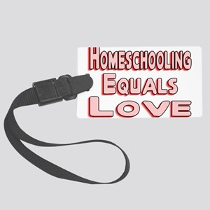 Homeschooling Large Luggage Tag