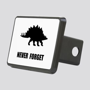 Never Forget Dinosaur Rectangular Hitch Cover