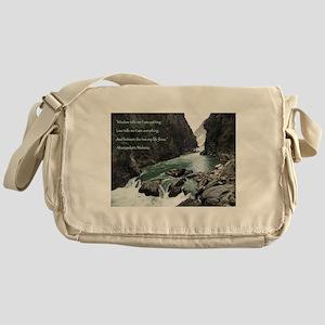 Wisdom Tells Me Messenger Bag