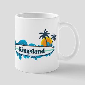 Kingsland GA - Surf Design. Mug