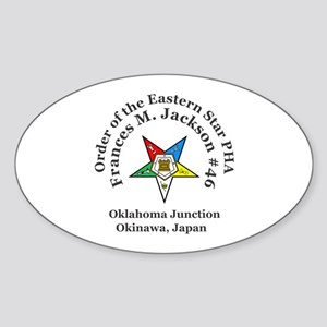 Frances M. Jackson Chapter # 46 OES PHA Sticker (O