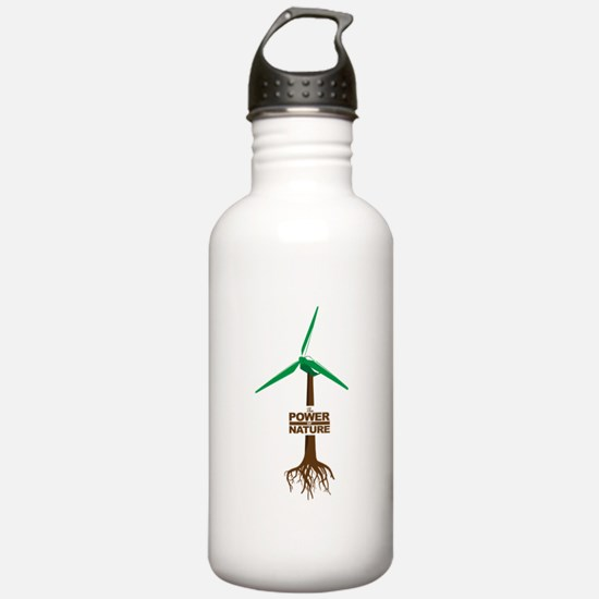 The power of nature. Windsmiths Water Bottle