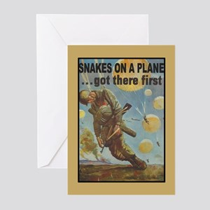 Snakes on a Plane Greeting Cards (Pk of 10)