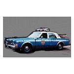 New York City Police Car Sticker (Rectangle 50 pk)