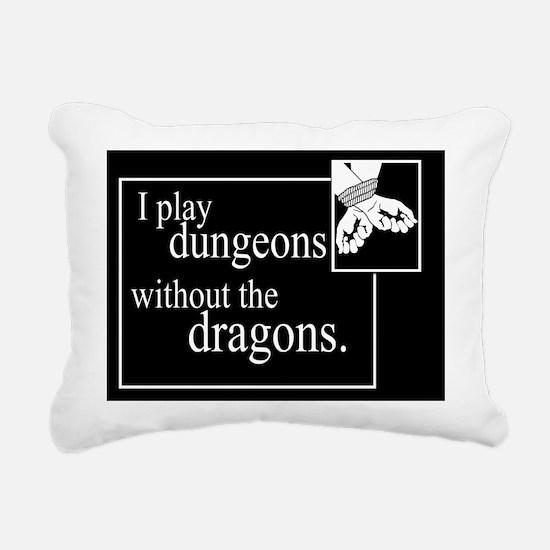 Dungeons Without Dragons Rectangular Canvas Pillow
