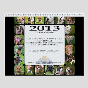 2013 Pit Bull Awareness Wall Calendar
