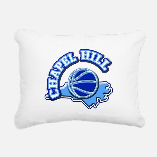 Chapel Hill Basketball Rectangular Canvas Pillow
