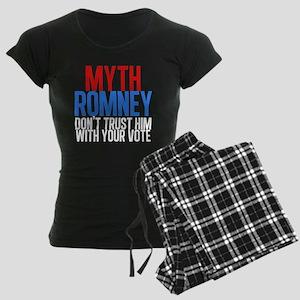 Myth Romney Women's Dark Pajamas