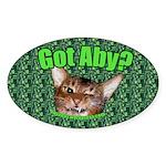 Got Aby? Sticker (50 pk)
