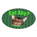Got Aby? Sticker