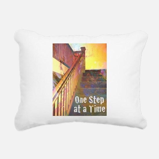 RECOVERY 12 STEPS Rectangular Canvas Pillow