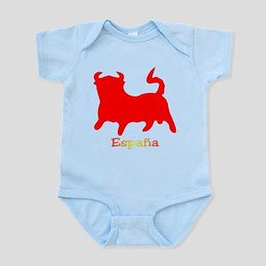 Red Spanish Bull Infant Bodysuit
