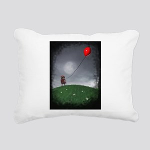 Fly Your Little Red Baloon Rectangular Canvas Pill