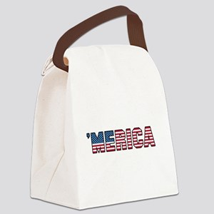 'Merica Canvas Lunch Bag