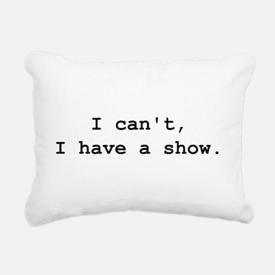 Cute Theater director Rectangular Canvas Pillow