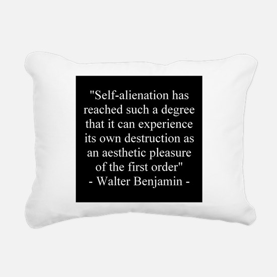 Cute Walter Rectangular Canvas Pillow