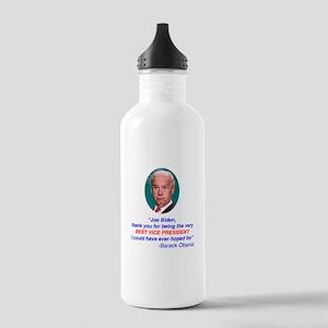 Joe Biden Best VP Collectible Stainless Water Bott