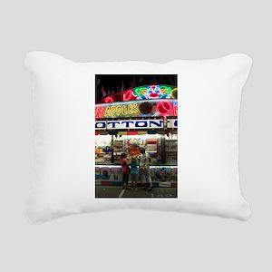 Cotton Candy Apples Rectangular Canvas Pillow