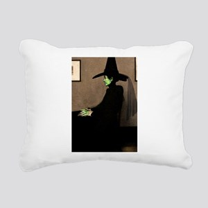 Whistler's Wicked Witch Rectangular Canvas Pillow