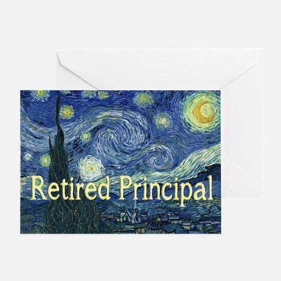 Retired Principal Van gogh blanket.PNG Greeting Ca