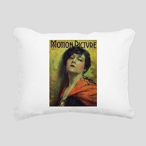 Gloria Swanson 1922 Rectangular Canvas Pillow