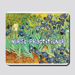 Nurse Practitioner blanket van gogh Mousepad