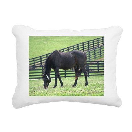 DYNAFORMER Rectangular Canvas Pillow