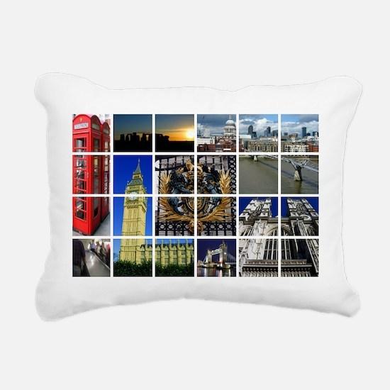 Funny Buckingham palace Rectangular Canvas Pillow