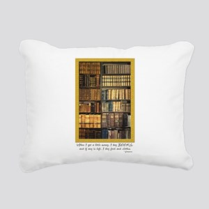 Erasmus Quote Rectangular Canvas Pillow