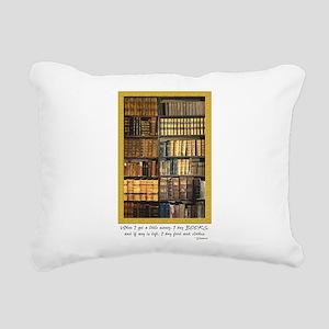 Erasmus Quote Rectangular Canvas Pillow
