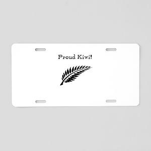 Proud Kiwi Aluminum License Plate