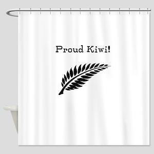 Proud Kiwi Shower Curtain