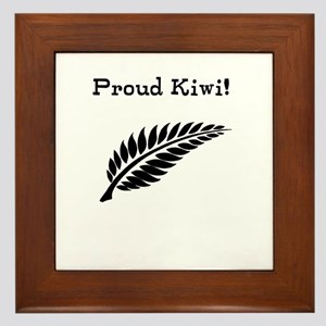 Proud Kiwi Framed Tile