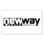 newwayfinal Sticker (Rectangle 50 pk)