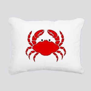 Crab Rectangular Canvas Pillow