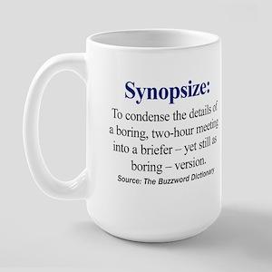 Synopsize Large Mug