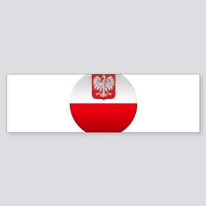 Polish Button Sticker (Bumper)