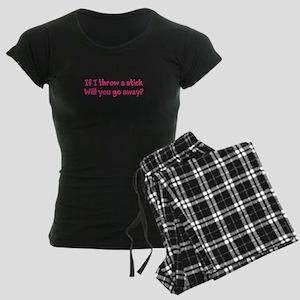 Throw a Stick Women's Dark Pajamas