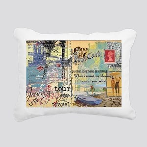 Journey Rectangular Canvas Pillow