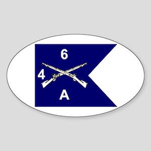 A Co. 4/6 Oval Sticker