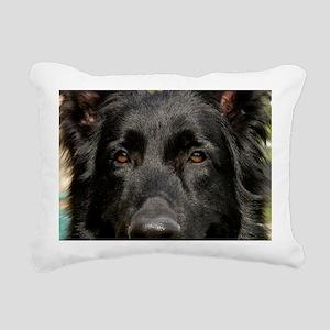 the eyes Rectangular Canvas Pillow
