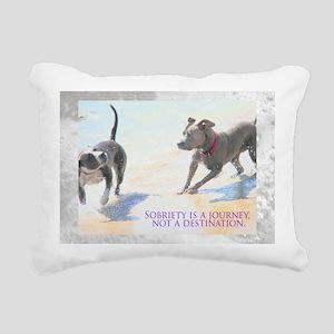 Sobriety Fun Rectangular Canvas Pillow