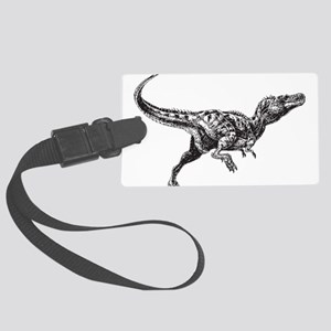 Dinosaur Large Luggage Tag