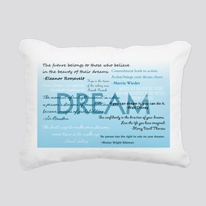 Dream Rectangular Canvas Pillow