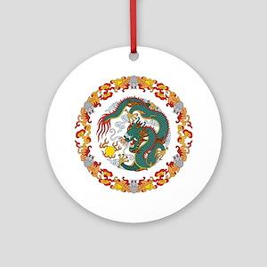 Dragon Art Ornament (Round)