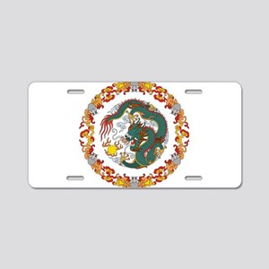 Dragon Art Aluminum License Plate