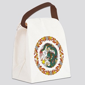 Dragon Art Canvas Lunch Bag
