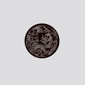 Oriental Art Mini Button